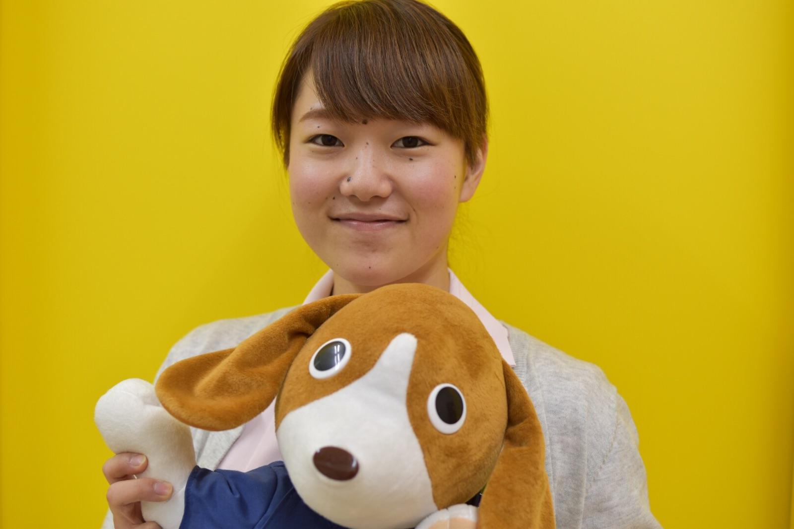 動物看護師山田祐莉子